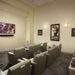 resident theater at The Reed at ENCORE! apartments in downtown Tampa